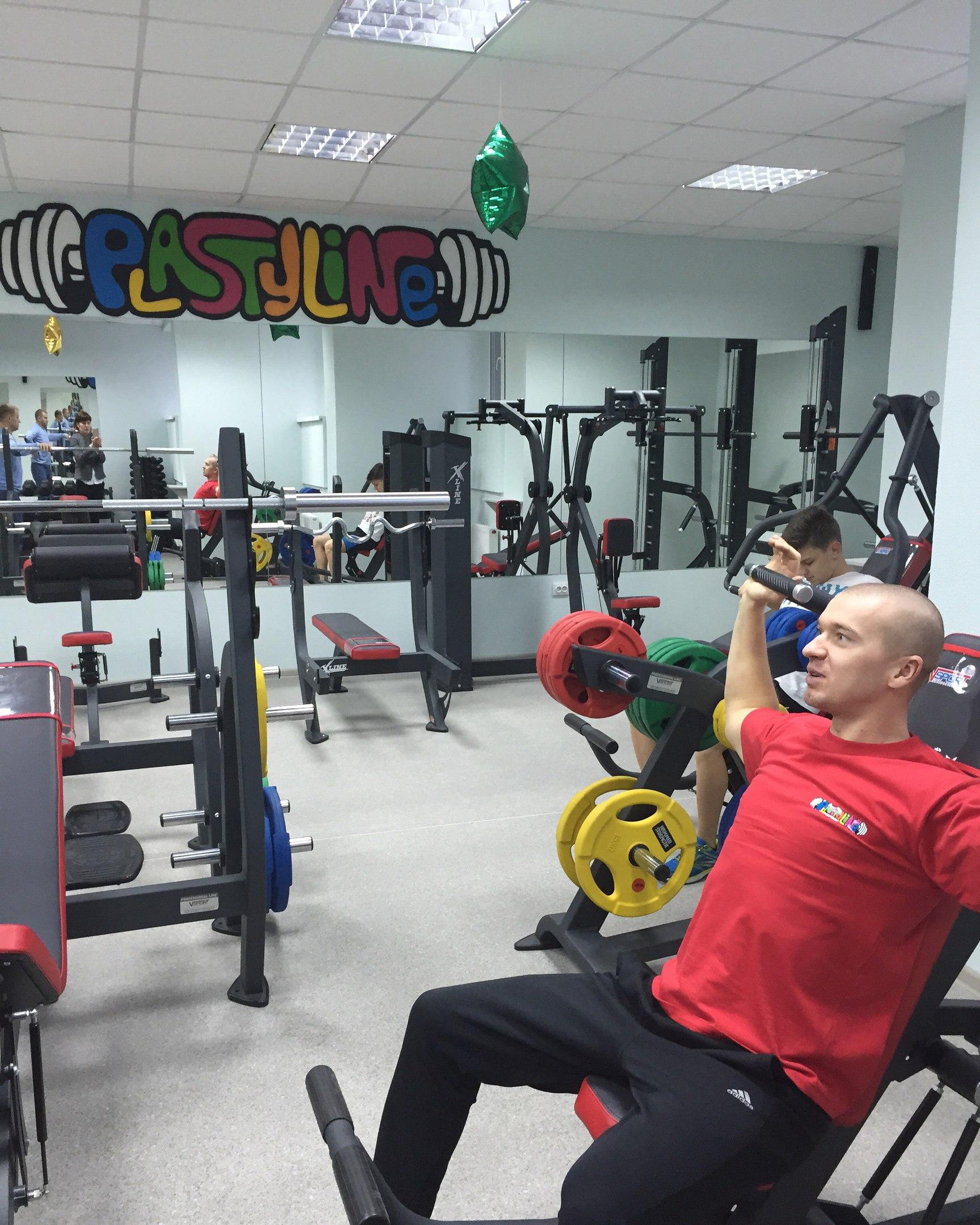 """Тренажерный зал в фитнес-клубе """"Plastyline"""" всего от 1,83 руб./занятие"""