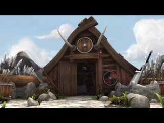 МУЛЬТФИЛЬМ ПРО ВИКИНГА ТАКООСА - смешной короткометражный мультфильм 2015 HD