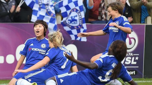 Женская футбольная команда челси