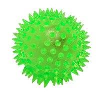 Мяч-прыгун резиновый с шипами, свет, 6,5 см, Shantou Gepai