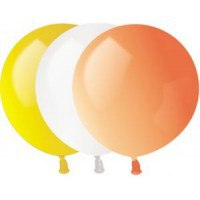 """Надувные шары """"пастель"""", 32 см, 100 штук, Веселый праздник"""