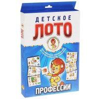 Профессии. детское лото (набор из 54 карточек), Улыбка