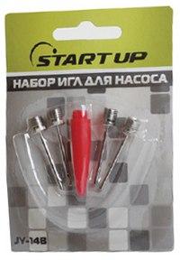 Набор игл для насоса  (4 штуки + переходник), Start Up
