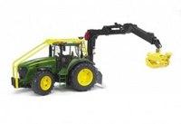 Трактор john deere 7930 лесной с манипулятором, Bruder (Брудер)