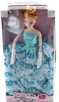 """Кукла шарнирная """"jenny"""" (в голубом платье), Shantou Gepai"""