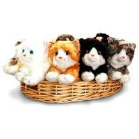 """Мягкая игрушка """"кошка лежащая"""", 25 см, Keel Toys"""