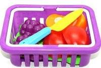 """Игровой набор """"продукты 2235-4"""", в корзинке, Shantou Gepai"""