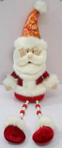 """Кукла """"дед мороз"""", 55 см (красный), Новогодняя сказка"""