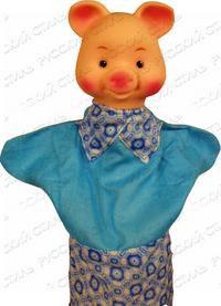 """Кукла-перчатка """"хрюша"""", Русский стиль"""
