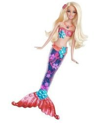 "Кукла barbie ""русалка - сверкающие огоньки"", Mattel (Маттел)"