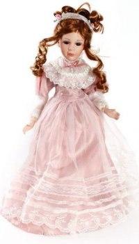"""Кукла фарфоровая """"эрминия"""" (16 дюймов), Angel Collection"""