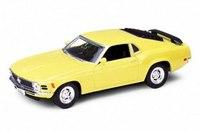 Модель винтажной машины 1:34-39 ford mustang 1970, Welly