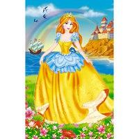 """Пазл """"волшебный мир. принцесса и кораблик"""", 35 элементов, Канц-Эксмо (Listoff, Unnika Land)"""