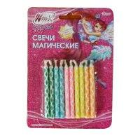 """Набор из 10-ти свечей для торта (магические) """"winx"""", Веселый праздник"""