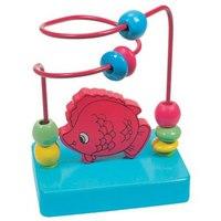 "Развивающая игрушка-паутинка ""рыба"", Bino"