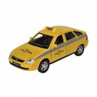 "Модель машины lada priora ""такси"", Welly"