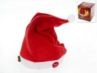 """Колпак новогодний музыкальный """"санта клаус"""" (красный), Monte Christmas"""