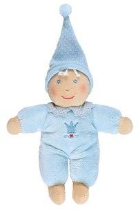"Плюшевая кукла ""baby glück"", голубая, Spiegelburg"