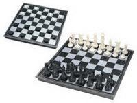 Шахматы, шашки магнитные с доской, Китай