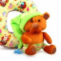 """Декор """"медвежонок"""", 11x20 см, игрушка на кнопке, РТО"""