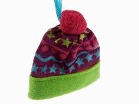 """Украшение подвесное """"шапка"""", фиолетовая, 9x7x8 см, Monte Christmas"""