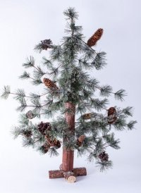 """Ель искусственная """"пихта северная заснеженная"""", 90 см, Crystal Trees"""