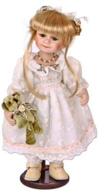 "Кукла фарфоровая ""кэтти"" (15 дюймов), Angel Collection"
