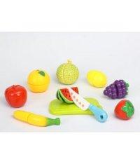 """Набор игровой """"продукты"""", фрукты, 10 предметов, Игруша"""