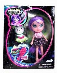 """Кукла """"буни. galaxy elves"""" с питомцем (кукла с сиреневыми волосами), Shiner Toys"""