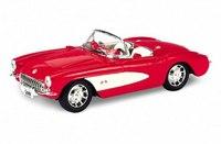 Модель винтажной машины 1:34-39 chevrolet corvette 1957, Welly