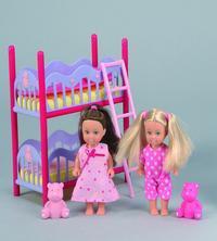 """Игровой набор """"2 куклы """"еви"""" с кроваткой"""", Simba (Симба)"""