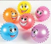 """Мяч """"улыбка"""" с массажной стороной, 20 см, Shantou Gepai"""