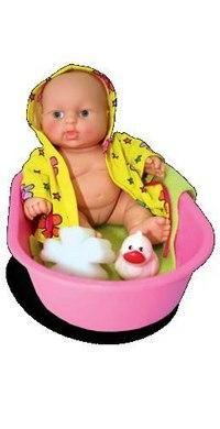 Карапуз в ванночке (девочка), Весна