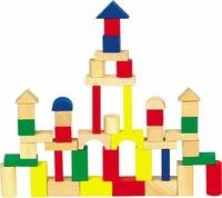 Конструктор №3 деревянный, 50 деталей, Мир деревянных игрушек (МДИ)