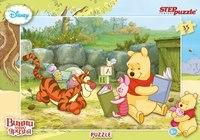 """Пазл """"винни и его друзья"""", 35 элементов, Step Puzzle (Степ Пазл)"""