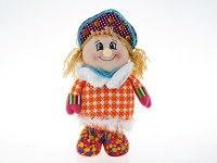 """Игрушка мягкая, набивная """"снегурочка"""", 21x11x38 см, Monte Christmas"""
