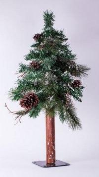 """Ель искусственная """"сосна европейская стройная"""", 120 см, Crystal Trees"""