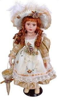 "Кукла фарфоровая ""лана"" (16 дюймов), Angel Collection"