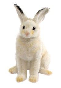 Кролик белый (15 см), Hansa (Ханса)