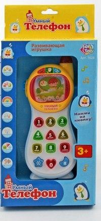 """Игрушка пластмассовая """"умный телефон"""", Play Smart (Joy Toy)"""