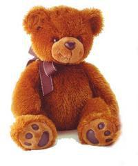 Медведь тёмно-коричневый, 70 см, AURORA (Аврора)