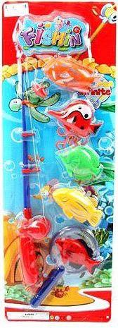 """Набор магнитный """"рыбалка"""" (удочка, 5 рыбок, сачок), Shantou Gepai"""