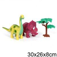 """Набор динозавров """"веселые зверята"""", Играем вместе"""