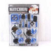 "Игровой набор посуды ""kitchen"", арт. 2804, Shenzhen Jingyitian Trade Co., Ltd."