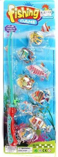 """Набор магнитный """"рыбалка"""" (удочка, 8 рыбок), Shantou Gepai"""