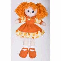 Кукла апельсинка в платье с сердечками (40 см), Gulliver (Гулливер)