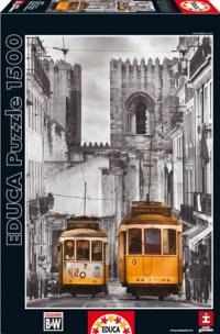 "Пазл ""район альфама, лиссабон"" (1500 деталей), Educa"
