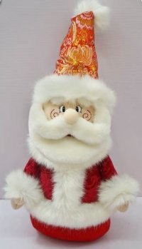 """Кукла """"дед мороз"""", 35 см (красный), Новогодняя сказка"""