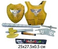 """Набор оружия """"рыцарь"""", доспехи, щит, Shantou Gepai"""