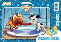 """Мягкий пазл """"котенок гав 1"""", 12 элементов, Десятое королевство"""